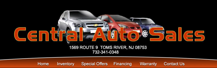 Central Auto Sales >> Used Car Dealer In Toms River Nj New Jersey Central