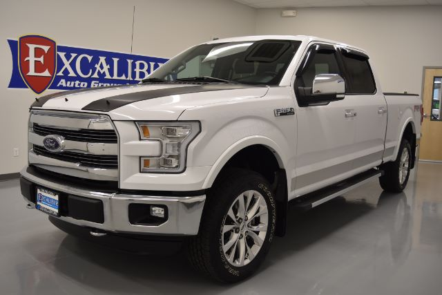 2016 FORD F-150 LARIAT SUPERCREW 55-FT BED 4WD 19k miles Options ABS Brakes Adjustable Foot Ped