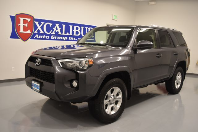 2016 TOYOTA 4RUNNER TRAIL 4WD 37k miles Options ABS Brakes Adjustable Foot Pedals Alloy Wheels