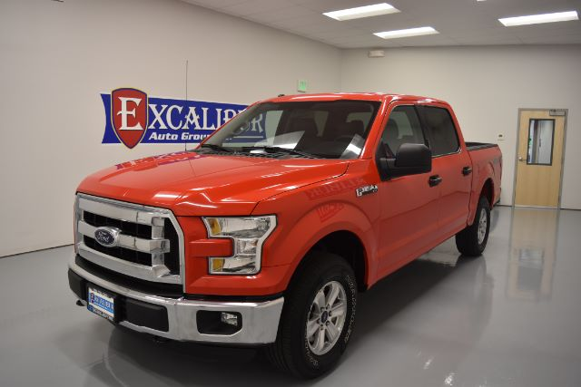 2016 FORD F-150 XL SUPERCREW 55-FT BED 4WD 20k miles Options ABS Brakes Adjustable Foot Pedals