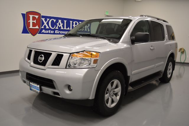 2015 NISSAN ARMADA SV 4WD 41k miles Options 4WDAWD ABS Brakes Adjustable Foot Pedals Air Cond
