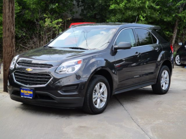 2016 CHEVROLET EQUINOX LS 2WD 26k miles Gray 2016 Chevrolet Equinox LS FWD 6-Speed Automatic with