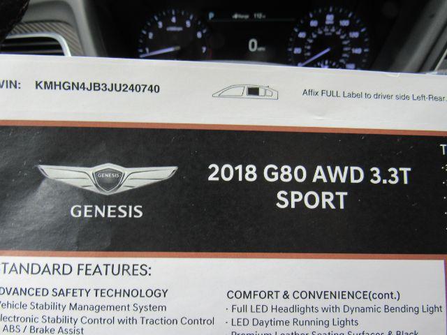 2018 Genesis G80 3.3T Sport in Cleveland