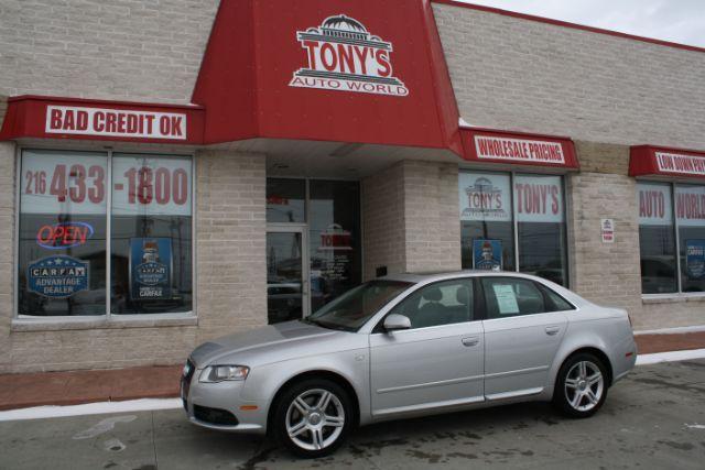 2008-Audi-A4-2.0T quattro with Tiptronic-Parma-Ohio