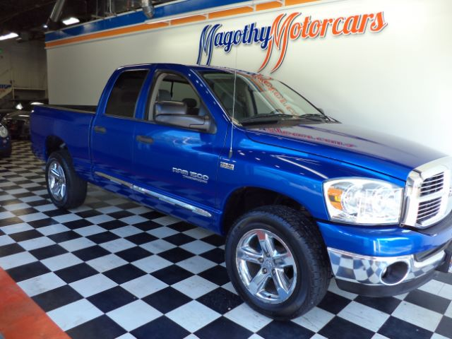 2007 DODGE RAM 1500 SLT QUAD CAB 4WD 112k miles Here is a great running new truck trade in that h