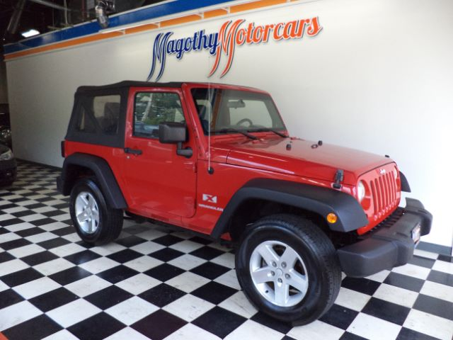 2007 JEEP WRANGLER X 129k miles Here is a great running one owner  new car trade in that has jus