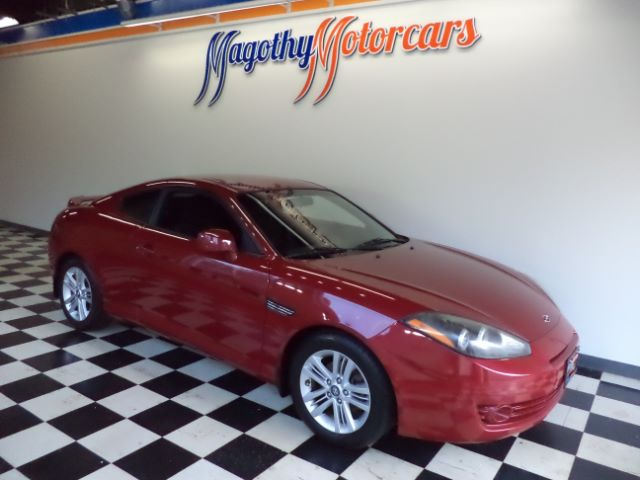 2008 HYUNDAI TIBURON GS 84k miles Here is a very clean new car trade in that has just arrived Thi