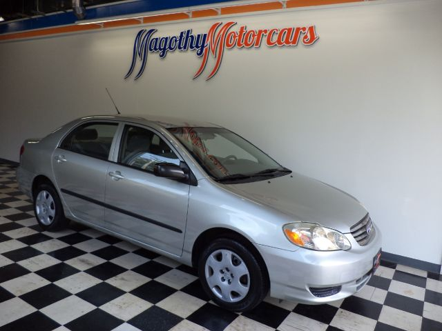 2003 TOYOTA COROLLA CE 141k miles Here is a great running corolla that has just arrived This car o