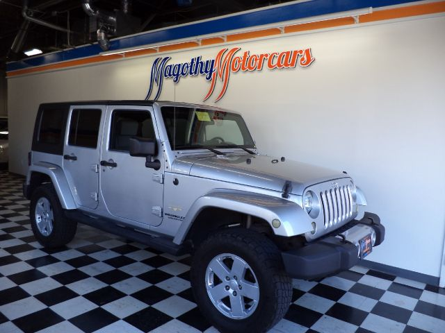 2008 JEEP WRANGLER UNLIMITED SAHARA 4WD 89k miles Here is a very clean one owner Sahara that has