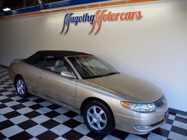 2002 TOYOTA CAMRY SOLARA SLE CONVERTIBLE 123k miles Here is a great running Camry that has just bee