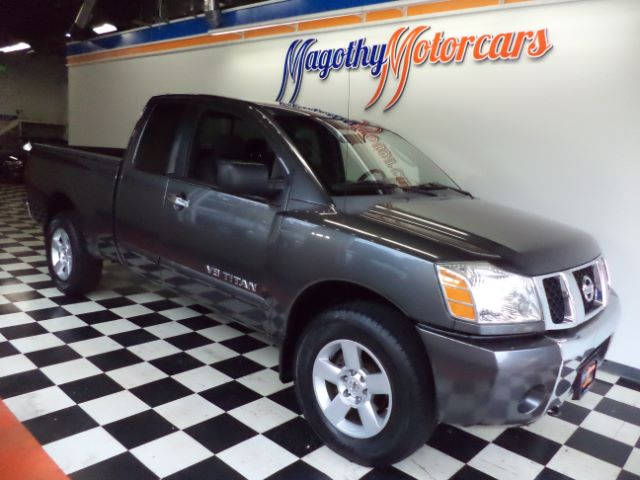 2007 NISSAN TITAN SE KING CAB 4WD 120k miles Here is a great running new truck trade in that has