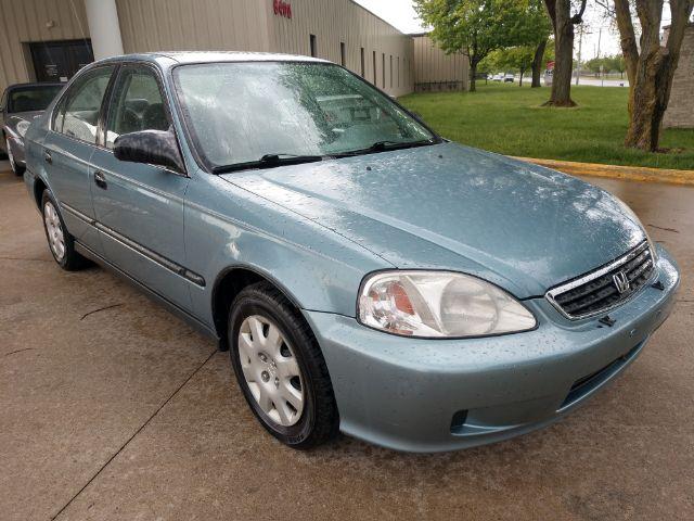 2000 Honda Civic LX sedan for sale at Ideal Motorcars